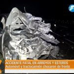 Fatal accidente en Arroyos y Esteros