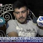 En intento de asalto disparan a víctima