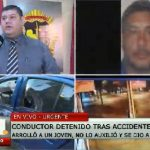 Conductor que huyó de fatal accidente fue capturado