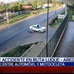 Video retrata imprudencia en ruta Luque-Areguá