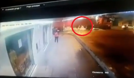 Imprudencia fatal quedó registrada en video