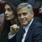 George Clooney sufrió un accidente a bordo de su motocicleta