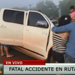 Hermanos mueren en accidente sobre la ruta 6