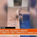 Revelan video de infidelidad en caso de doble crimen en el country