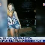 Madre desaparece en Argentina, denuncian familiares