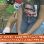 Adolescente denuncia a su padre por abuso sexual